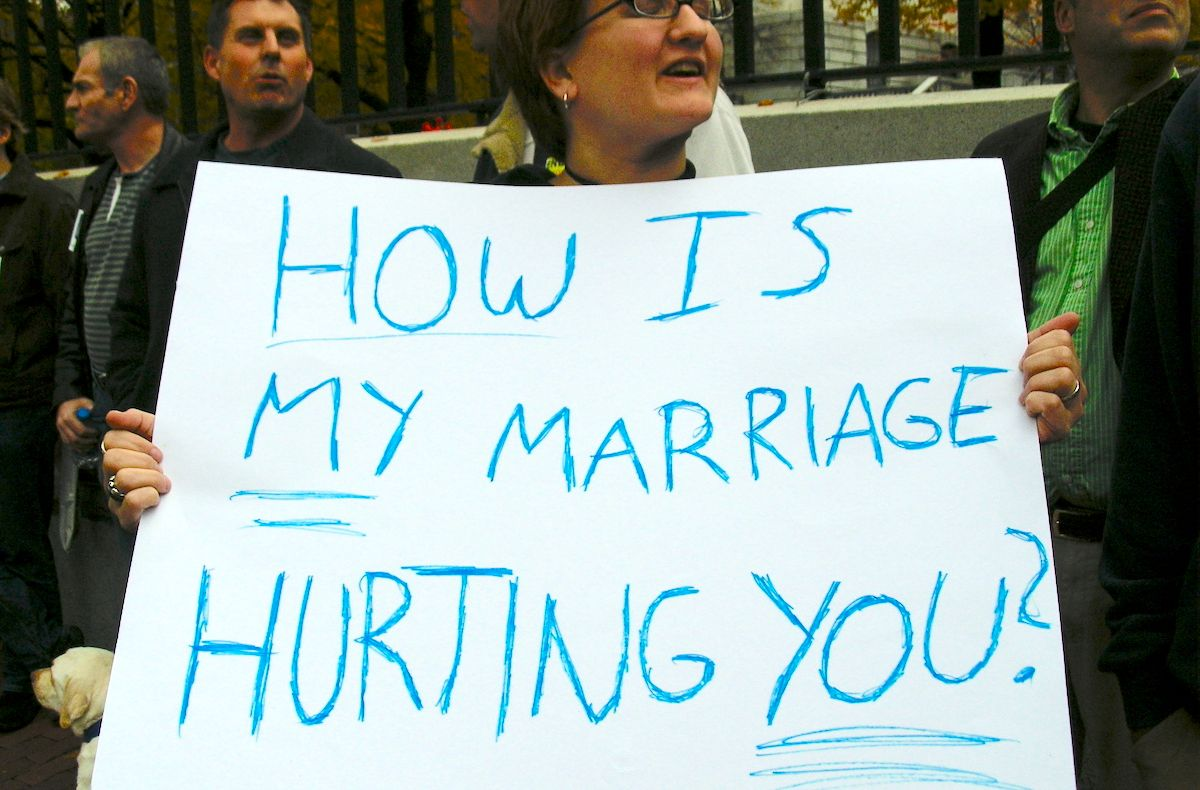 This Is How Your Same-Sex Marriage Affects Me As A Catholic Woman