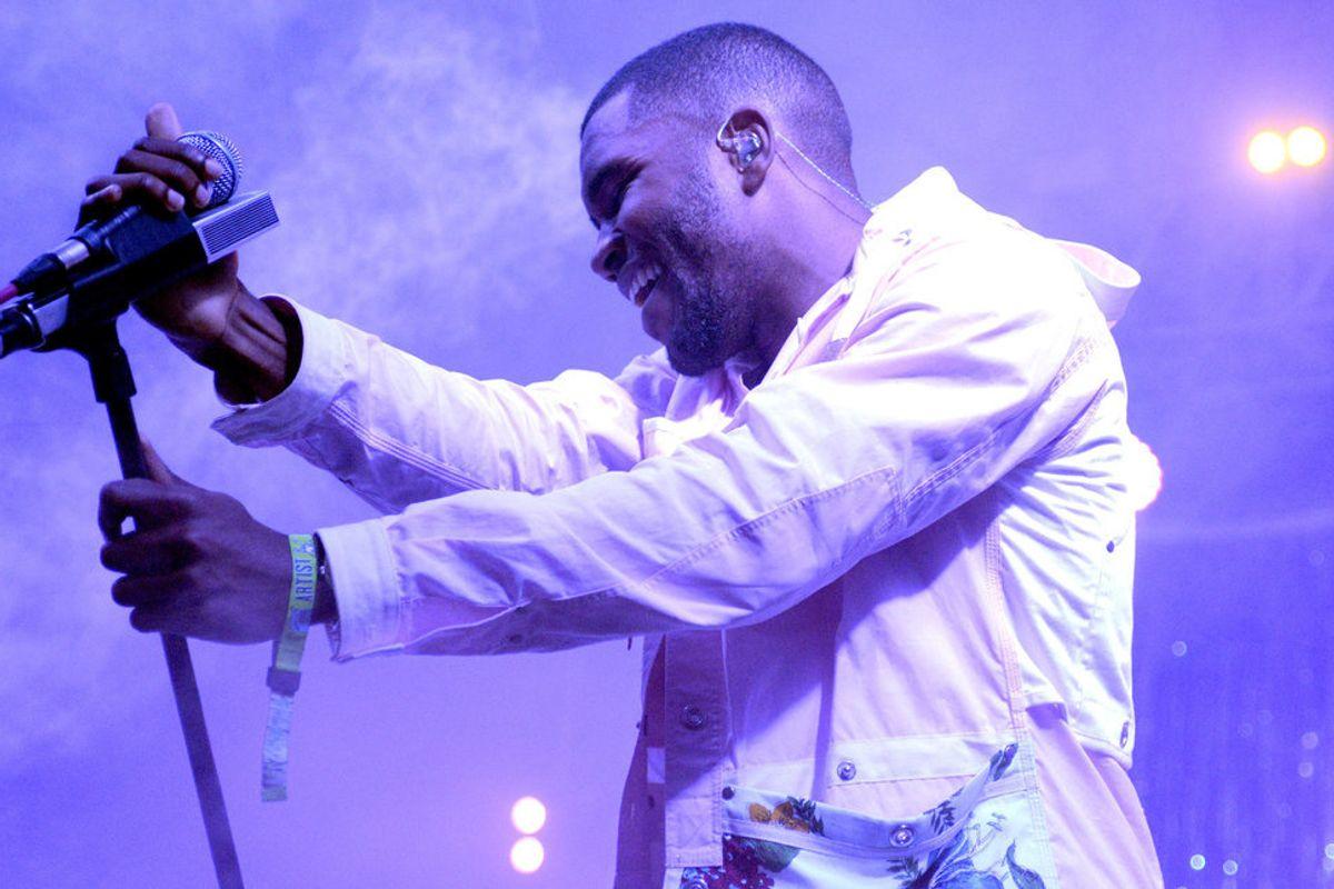 Frank Ocean Returns to Tumblr to Poke Fun at Kanye West