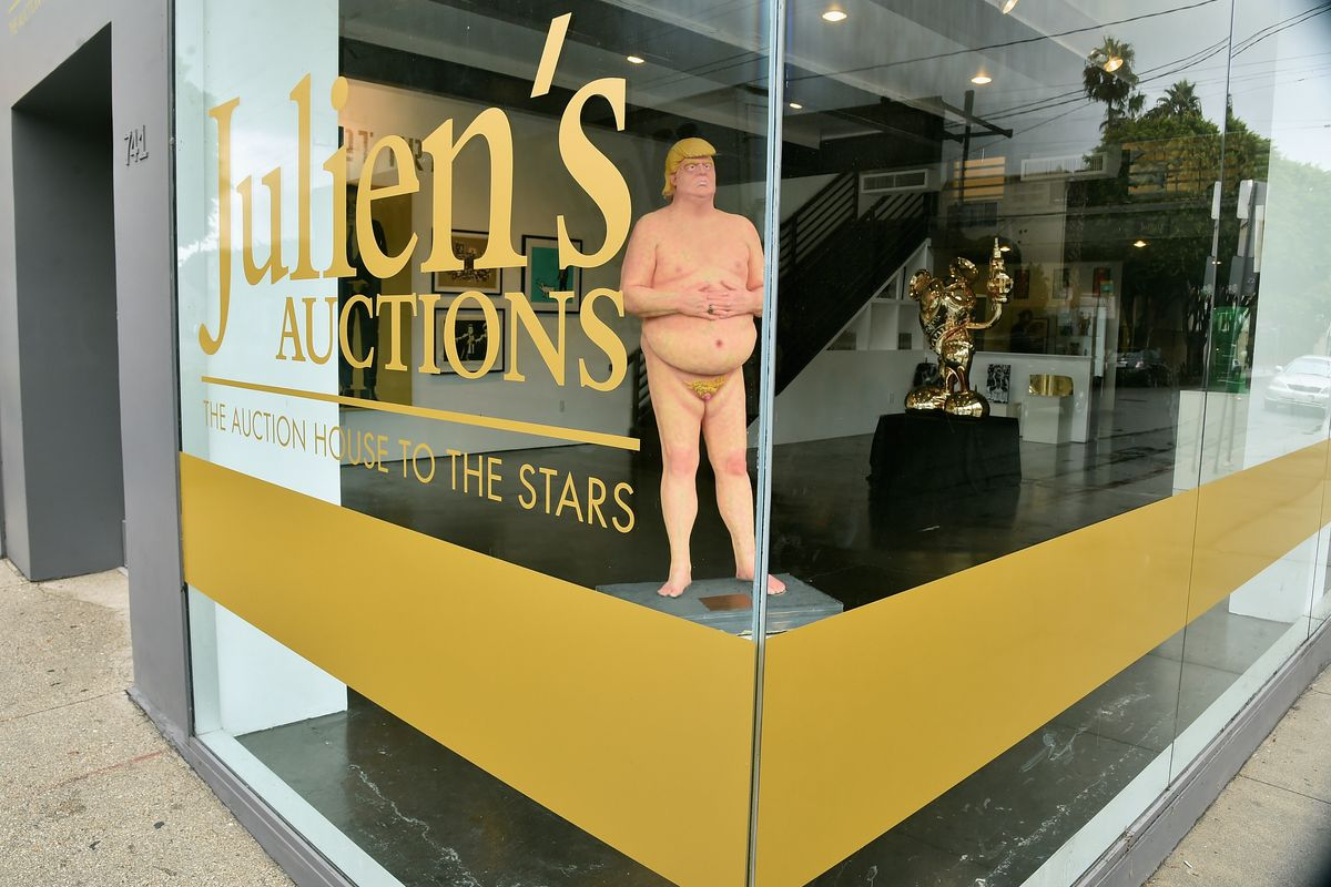 Someone Paid $28,000 for the Heinous Nude Trump Statue
