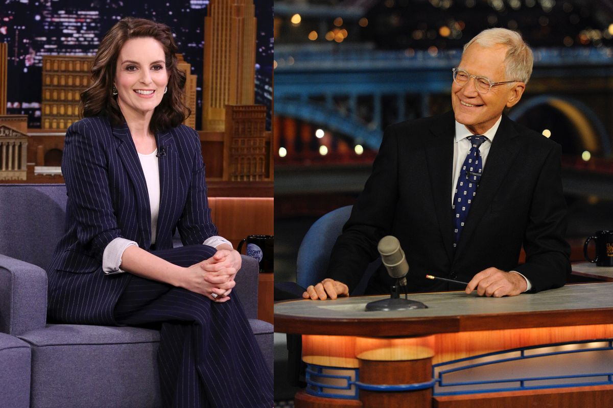 David Letterman Told Tina Fey He Feels Bad for Not Hiring Female Writers