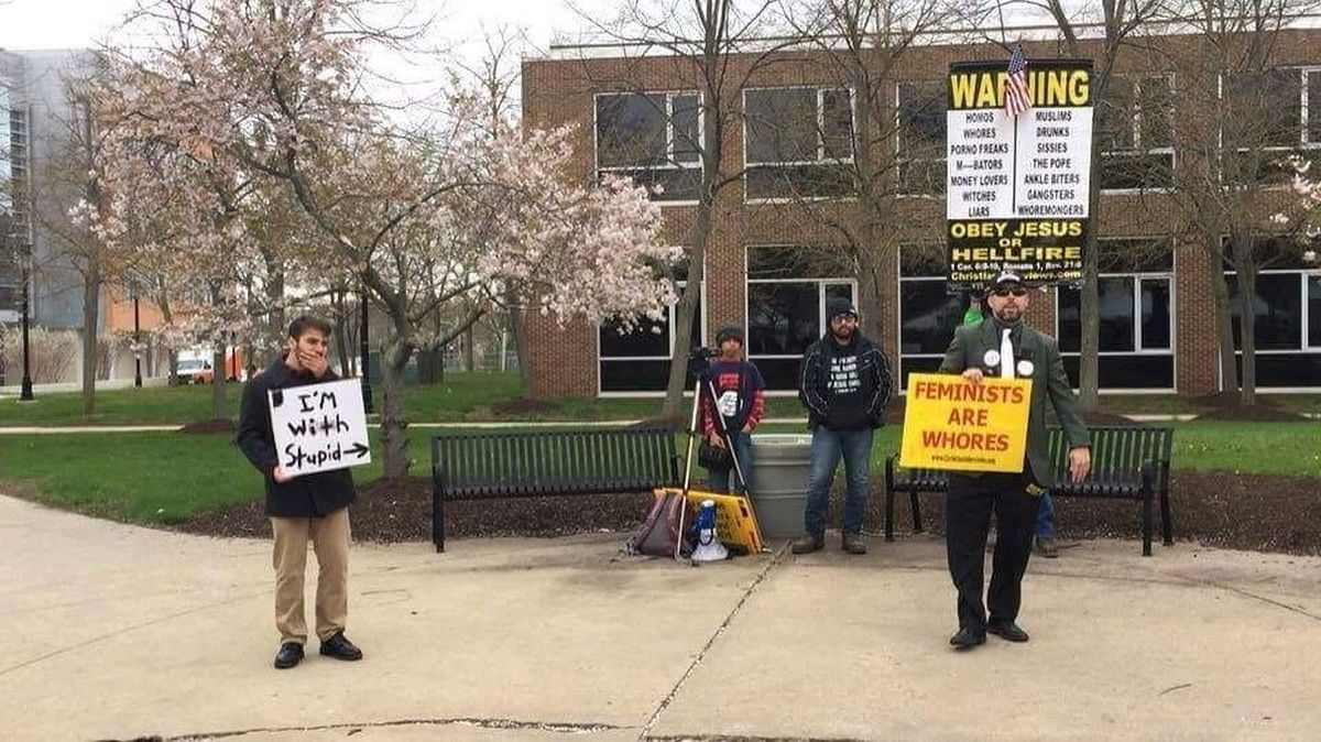 'Pastor' Aden Rusfeldt, Your Hatred Is Not Welcome At Rutgers