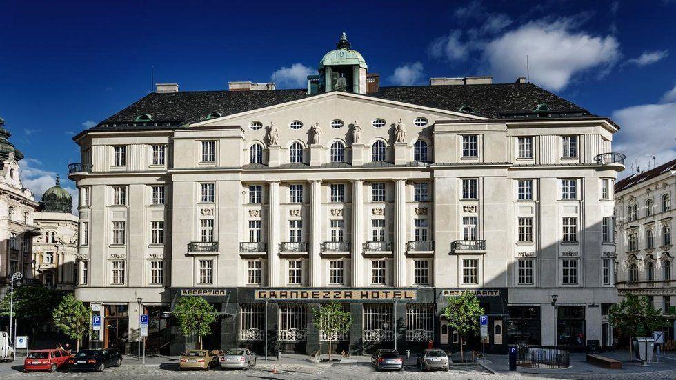 Travel Guide Brno Czech Republic Grandezza Hotel