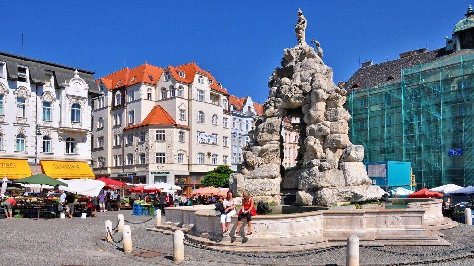 Travel Guide Brno Czech Republic Cabbage Market Square
