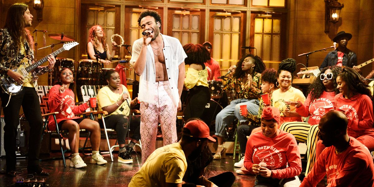 Childish Gambino Drops New Music at SNL