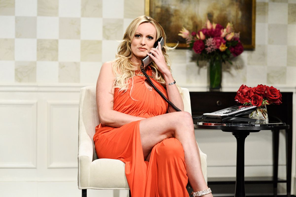 Stormy Daniels Makes a Surprise Appearance on SNL