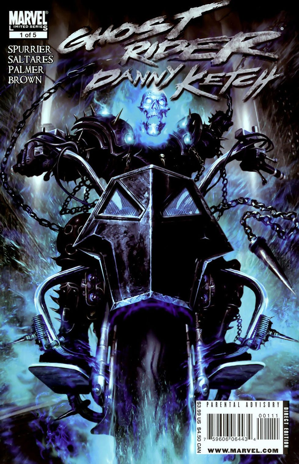 Why Did Ghost Rider's Motorcycle Demon Flame Out on Film