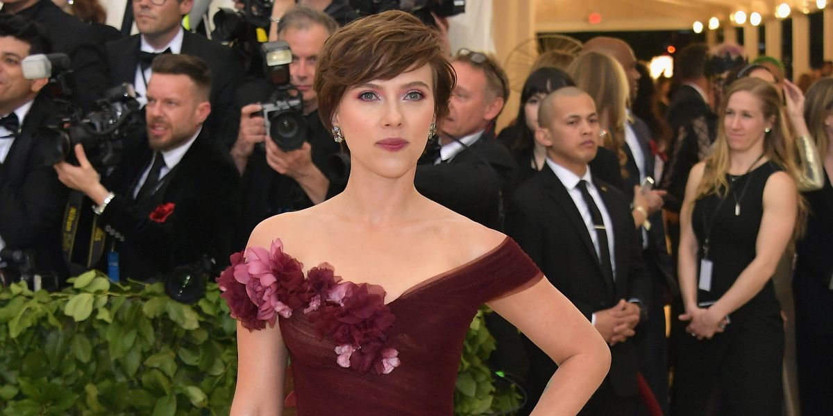 What Does Scarlett Johansson Wearing Marchesa Mean for #MeToo?