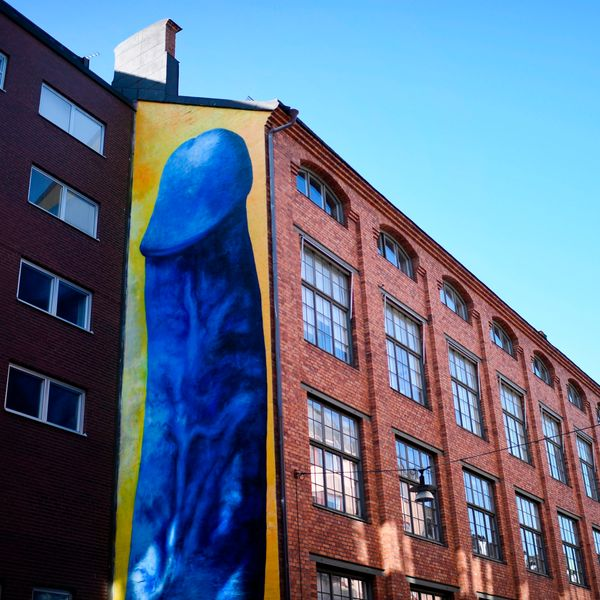 Talking Censorship With the Man Behind These Four-Story Penis Murals