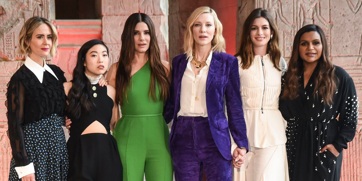 The 'Ocean's 8' Cast Sees Through Your Sexist Questions