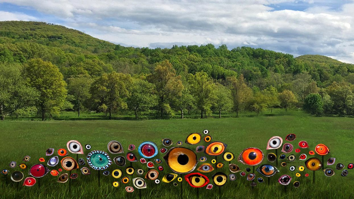 In Upstate New York, a Summer of Climate Change Art