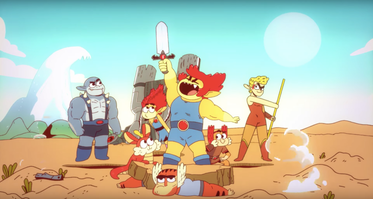 To The Haters Of The ThunderCats Reboot, You Need To Calm Down