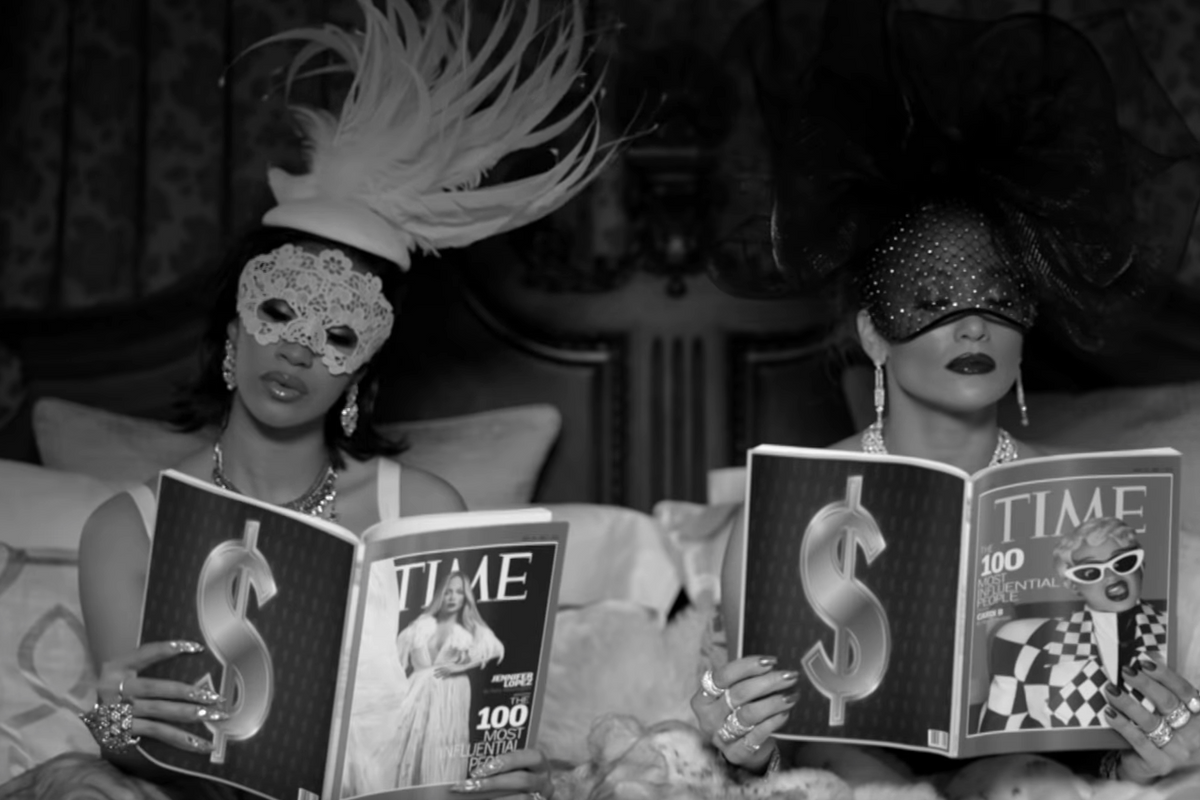 Jennifer Lopez and Cardi B Have All the Shmoney in 'Dinero'