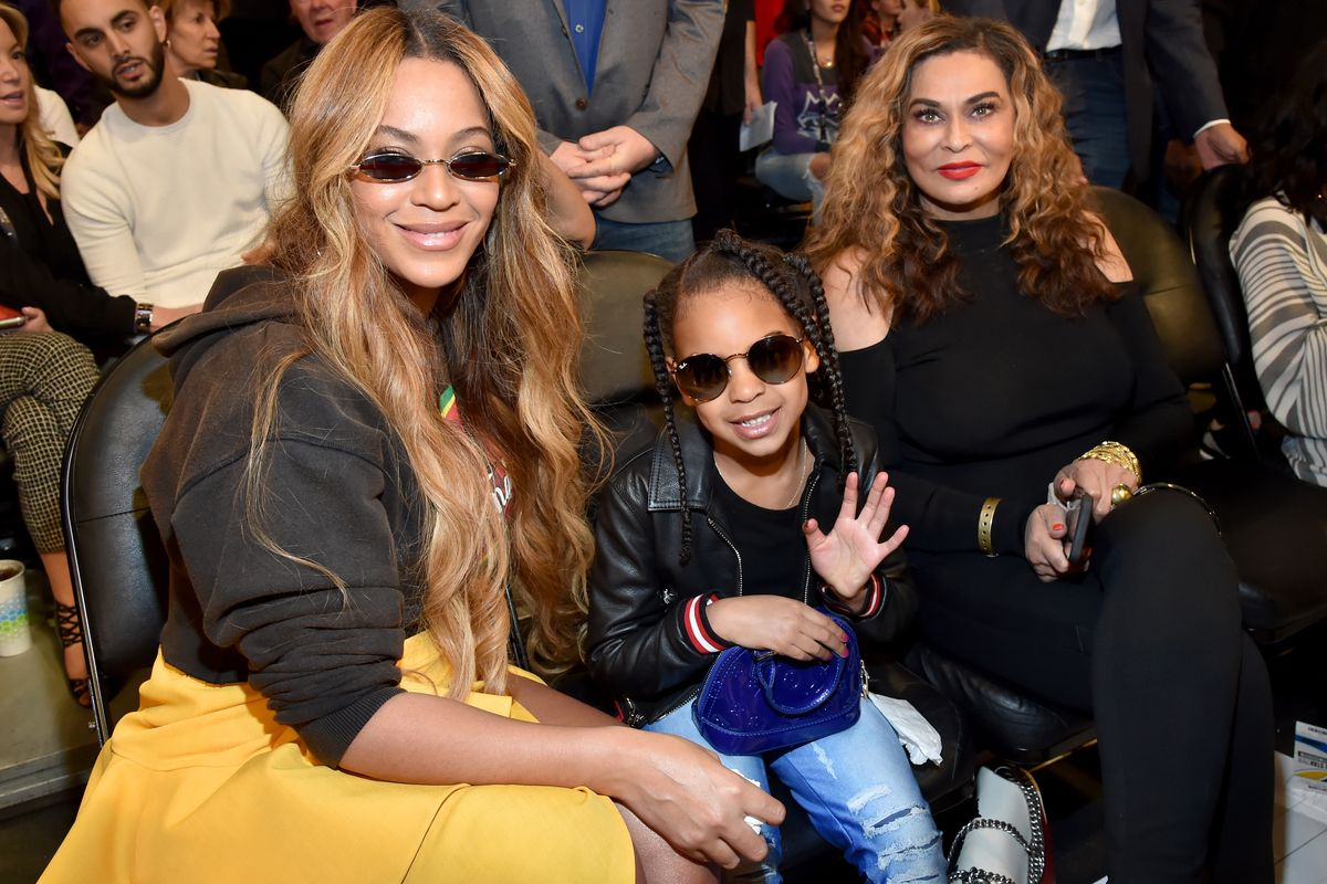 Miss Tina Knowles Got Scolded by Blue Ivy at the Ballet