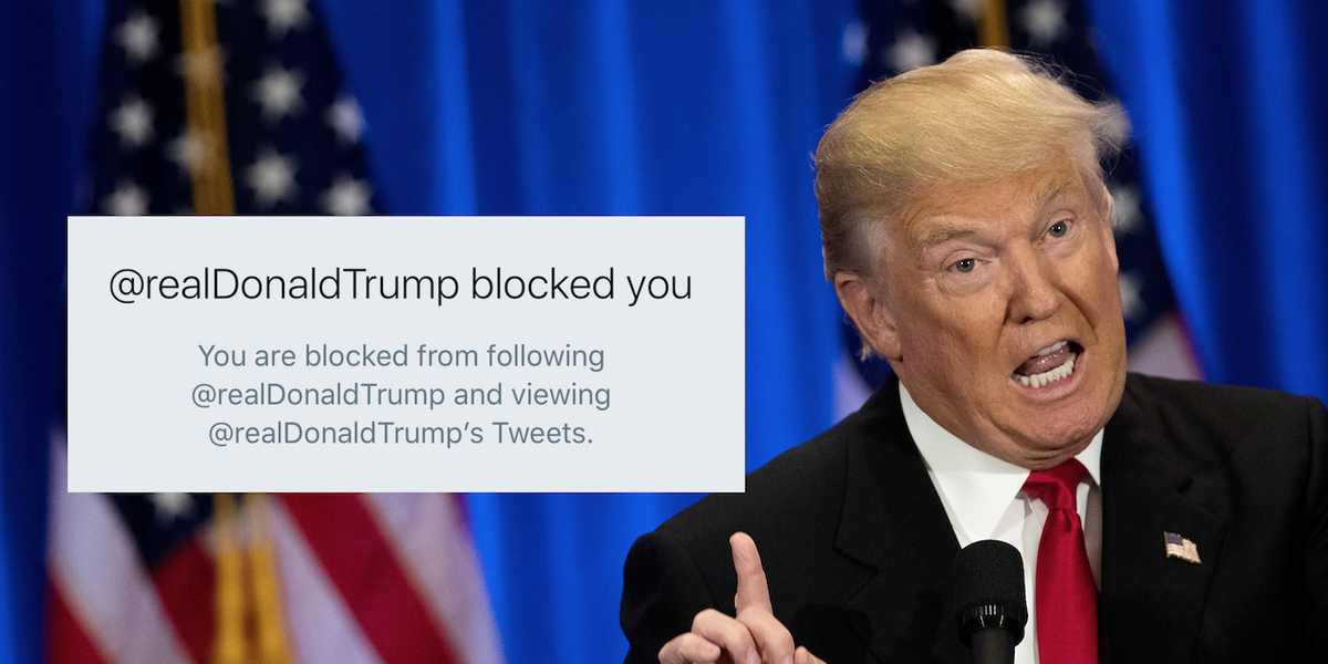 Federal Court Rules Trump Can't Block People on Twitter