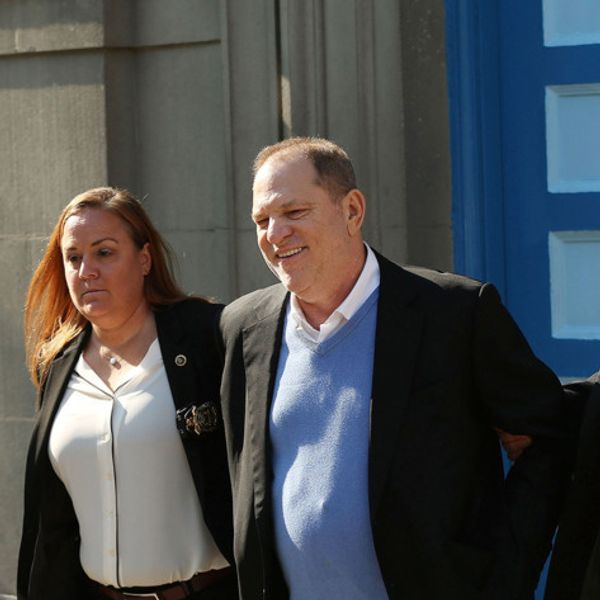 Harvey Weinstein Charged with Rape After Turning Himself In to Police