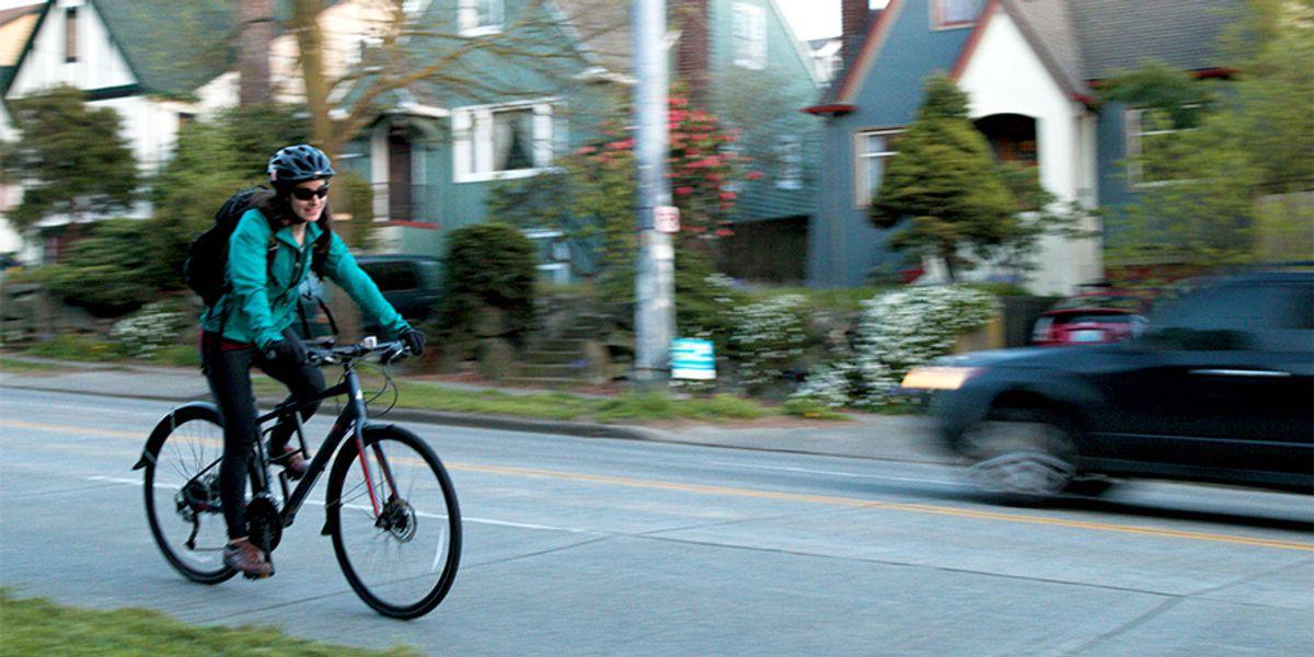 Essay: Biking in dirty air