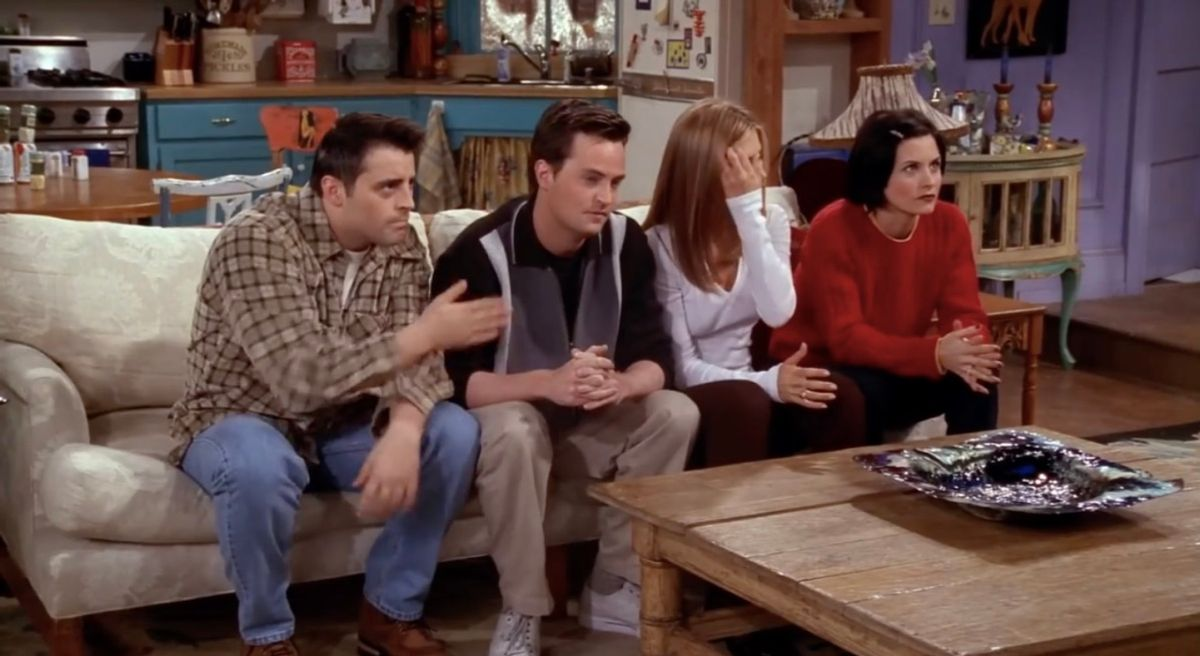 'Friends' Made Us Laugh, Made Us Cry, And Made Us Cringe With All It's Homophobia