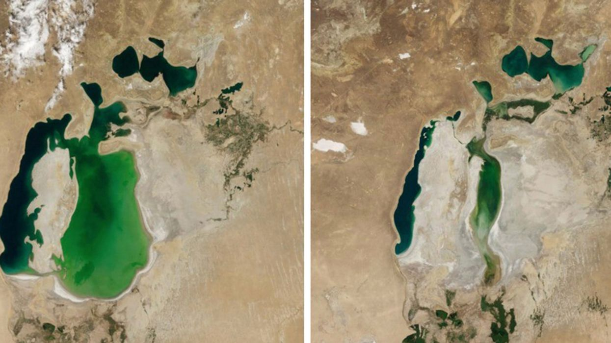 NASA Study of Increasingly Dire Global Water Shortages Finds 'Clear Human Fingerprints'