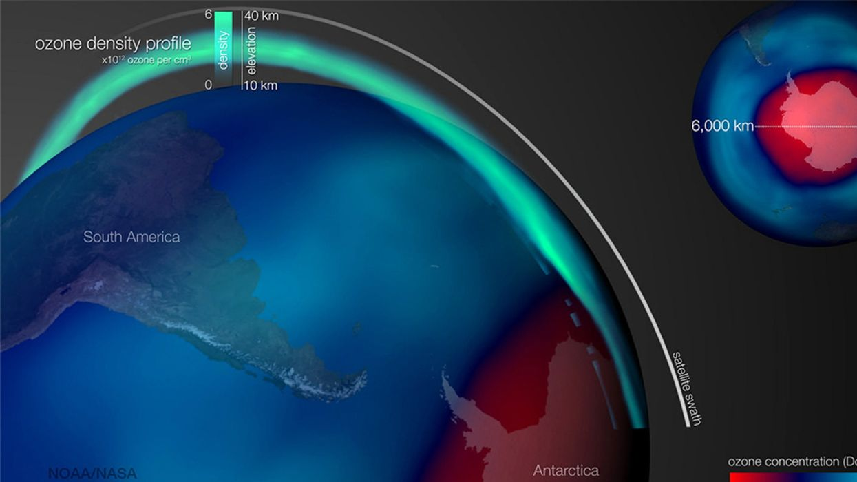 Emissions of Ozone-Destroying Chemical Mysteriously Rising