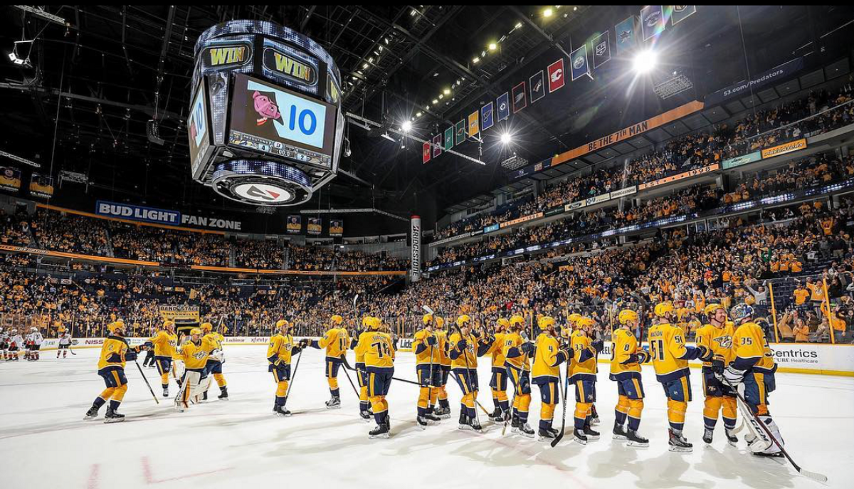 Are The Nashville Predators The First Team To Openly Endorse Politicians?