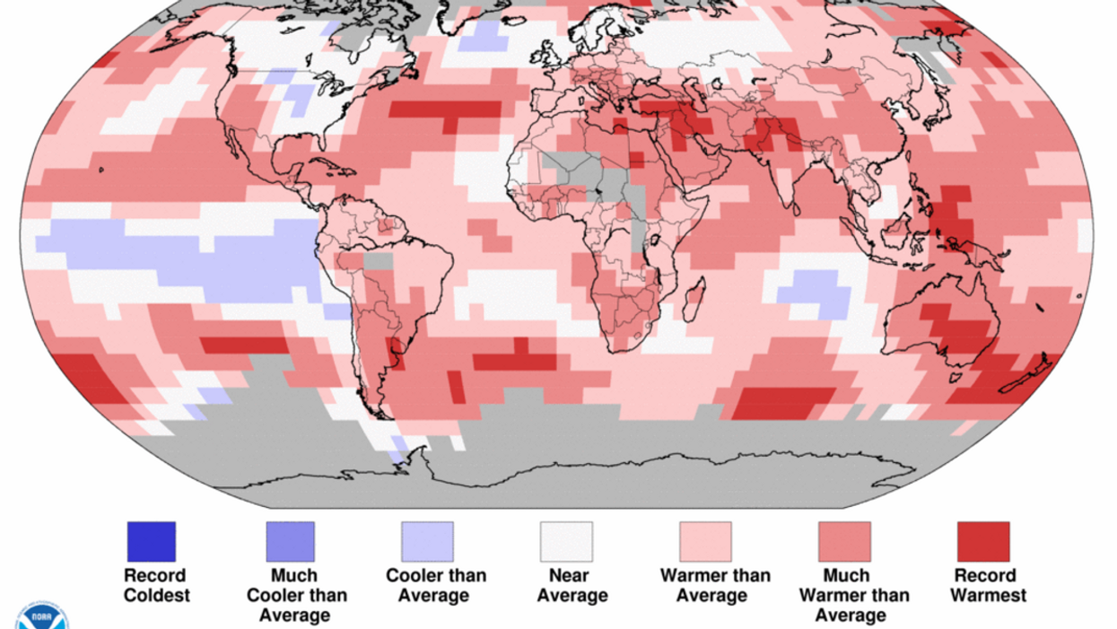 We Just Experienced 400 Straight Months of Unusual Warmth