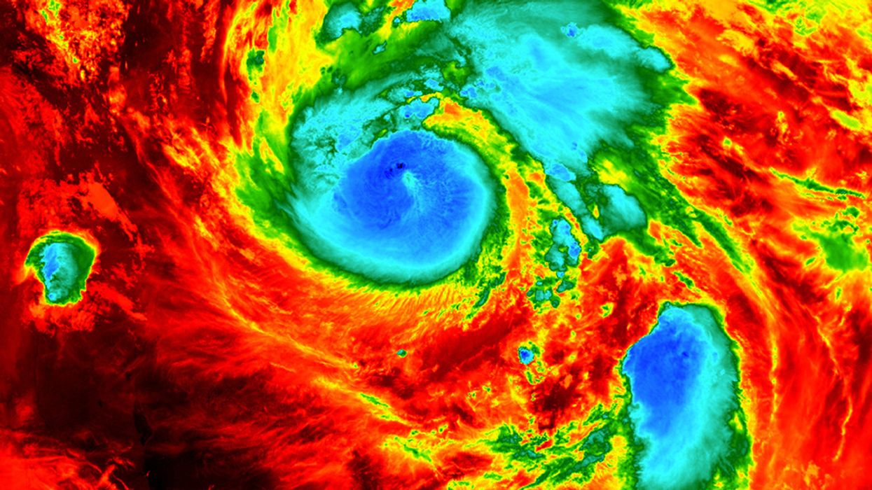 Record Heat Means Hurricanes Gain Ferocity Faster