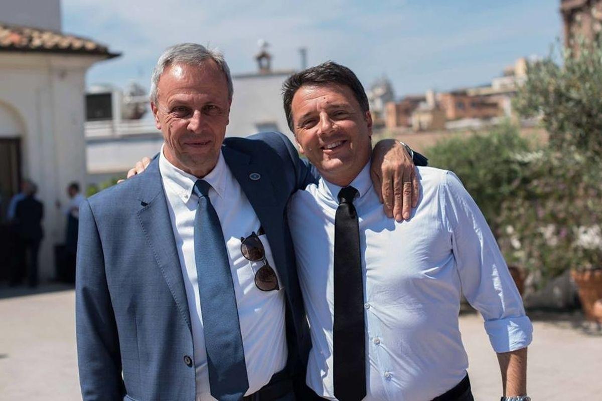 Mentre «l'Unità» cadeva a pezzi, Renzi ci piazzava il suo fotografo