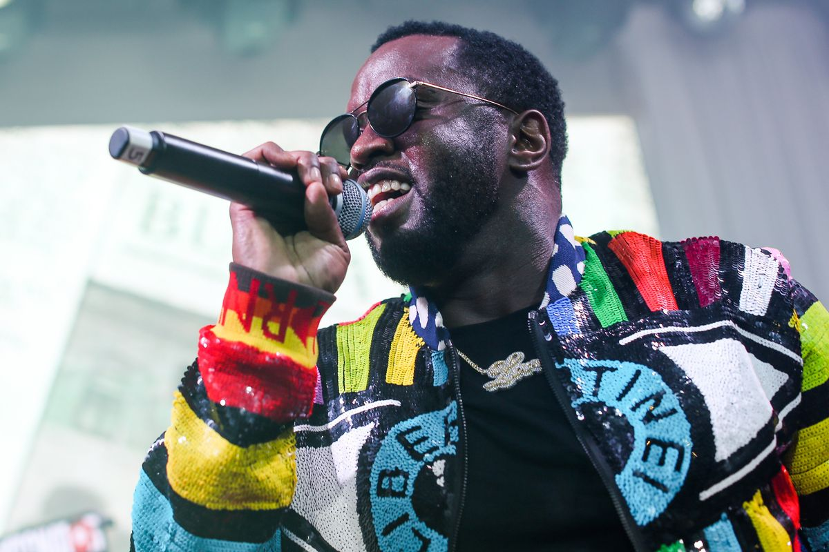 Diddy Reportedly Bought Kerry James Marshall's Painting For $21.1 Million