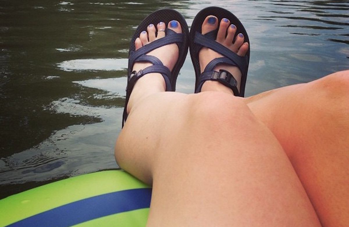 A Perfect Chacos Tan And 23 Other Things You Have To Capture For Your Summer Aesthetic