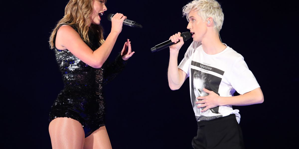 TroyeSivan Makes Surprise Appearance at the 'Reputation' Tour