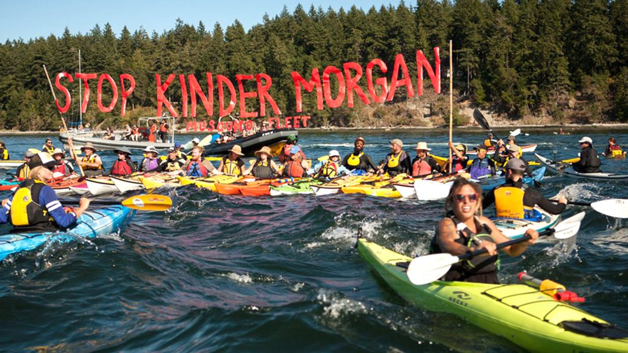 Environmental Groups Vow to Block Tar Sands Oil Project: 'We Are Going to Not Allow Kinder Morgan to Finish This Pipeline'