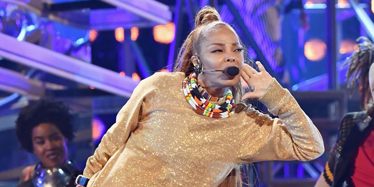 Janet Jackson Becomes the First Black Woman to Win the Billboard Music Awards' Icon Award