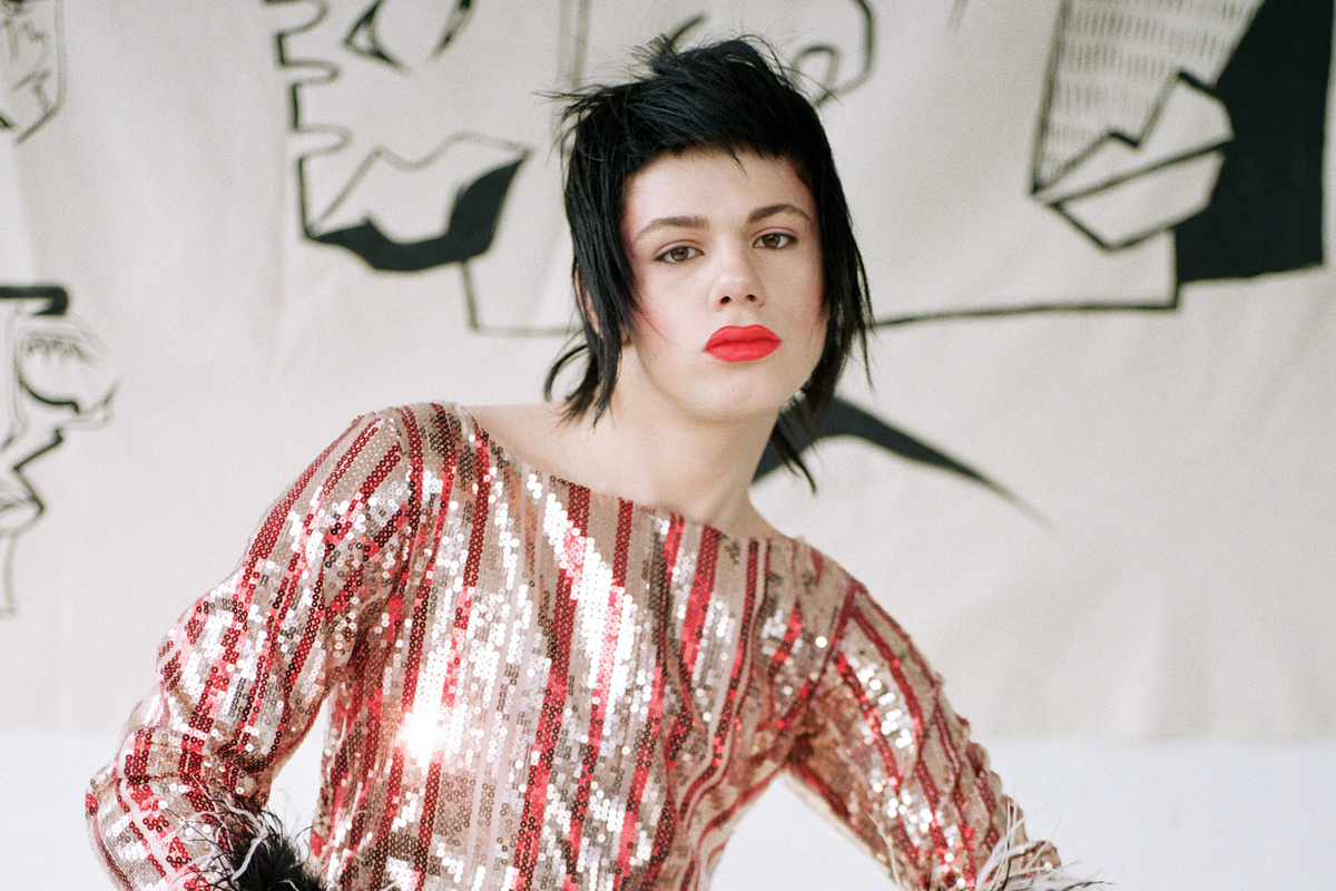 LORDELE's Debut Collection Is a Reverie of Sequins and Queer Power
