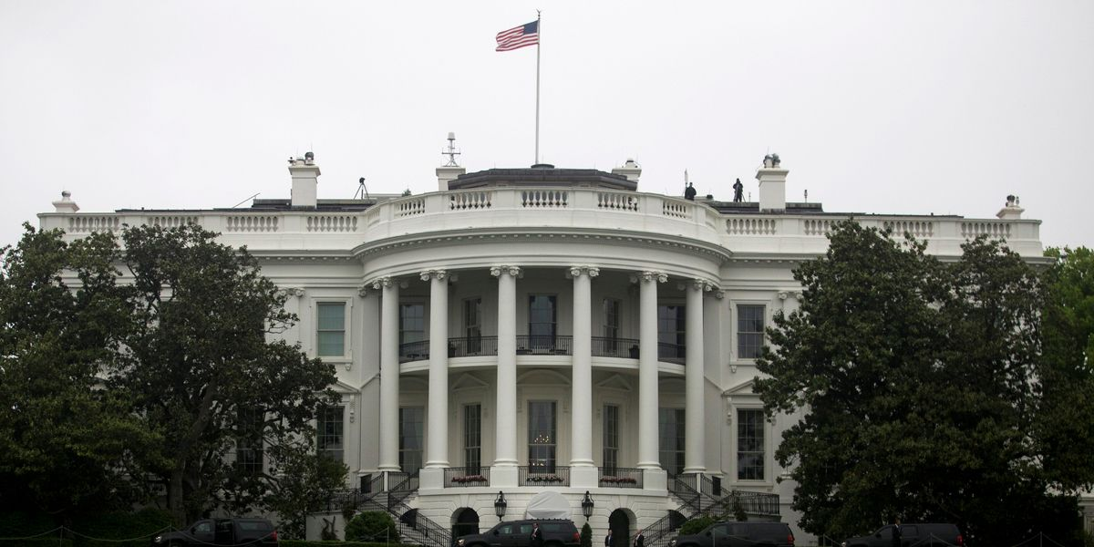 A Sinkhole at The White House Is Getting Bigger
