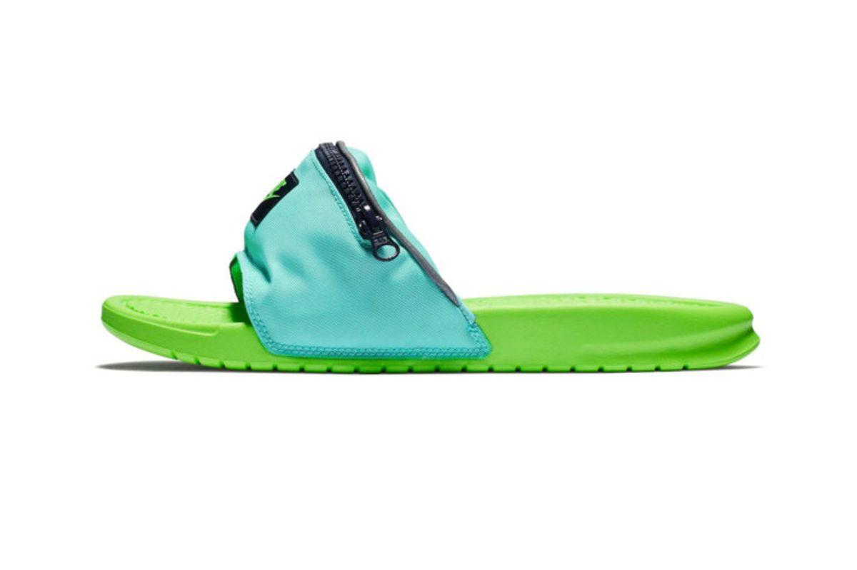 Nike Fanny Pack Slides: a Forgivable Fashion Faux Pas