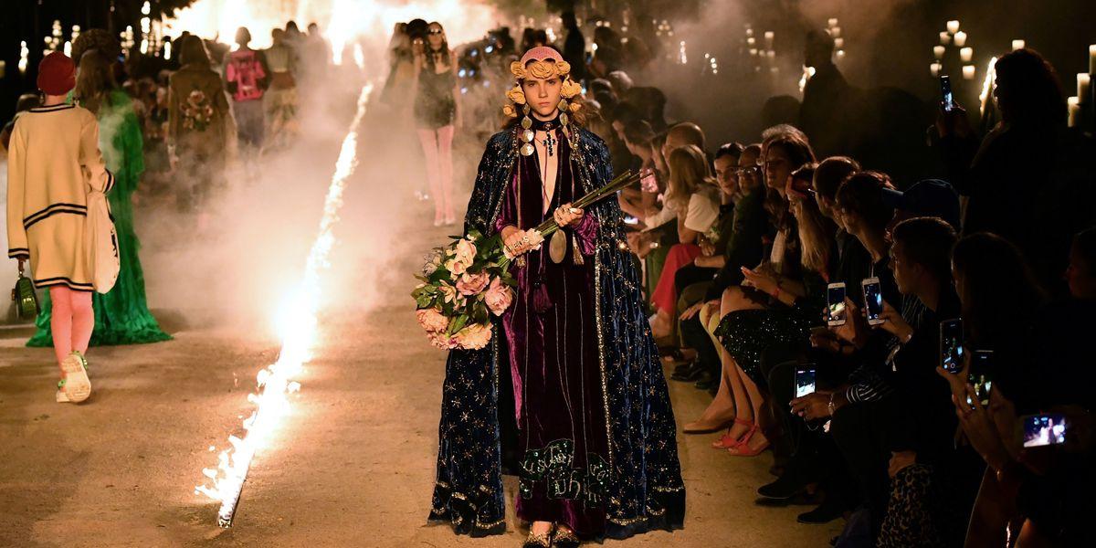 Gucci Threw a Fashion Party in a Graveyard