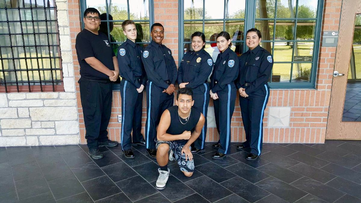 High Schoolers Can Become Cops?