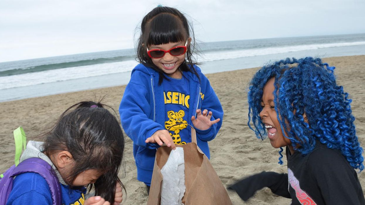 LA Kids Make Waves for a Plastic-Free Ocean