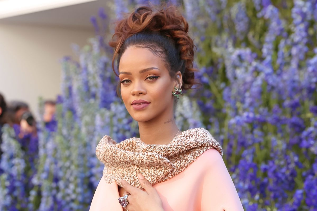 Rihanna Endorses Barbados' First Female Prime Minister