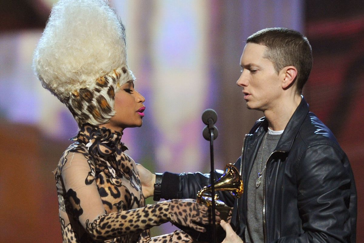Eminem Finally Talks Dating Nicki Minaj