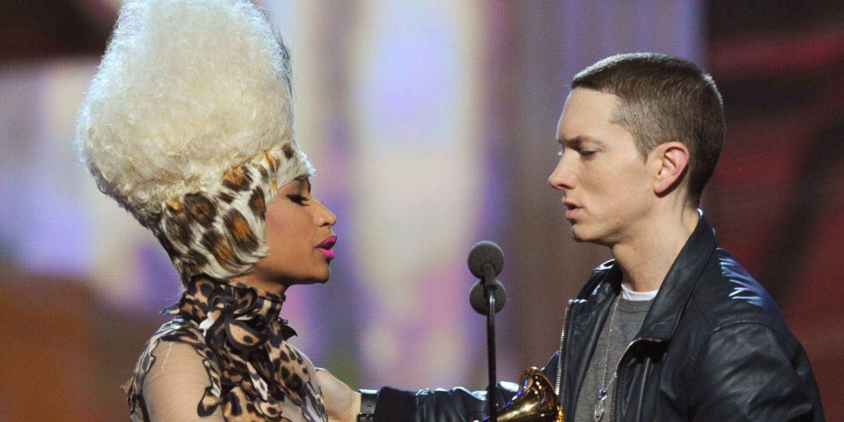 Eminem Finally Talks Dating Nicki Minaj