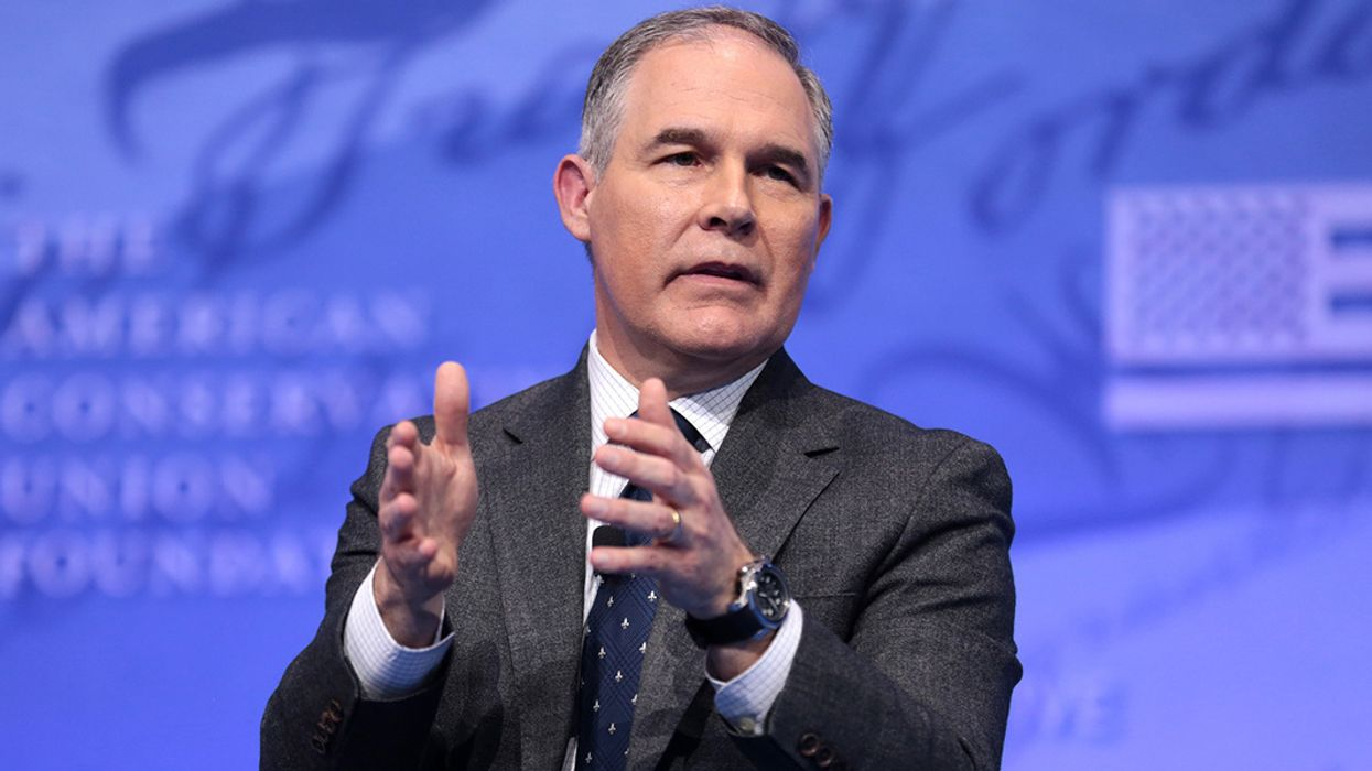 Emails Show EPA's Cozy Alliance With Major Climate Denial Group