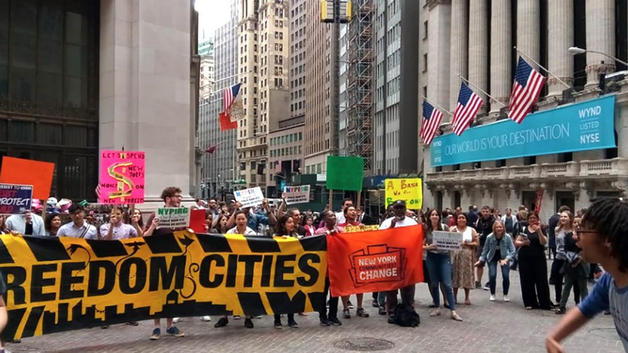 Fed Up With Big Banks That Fund Climate Crisis and Oppression, Community Coalition Demands Public Bank for New York