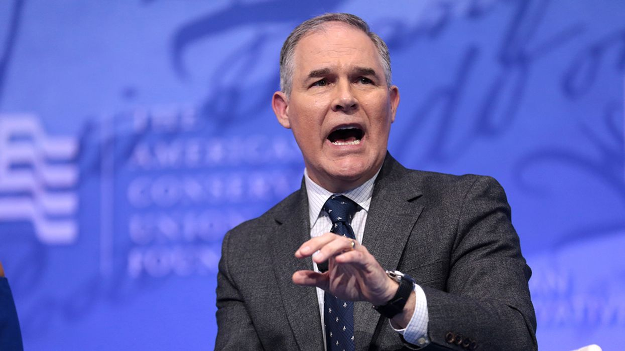 EPA's Running Out of Time to Produce Any Documents That Back Up Pruitt's Climate Denial