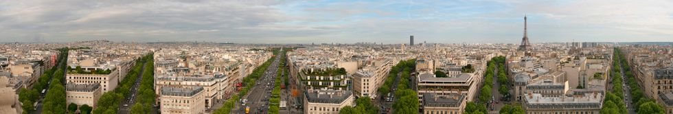 Photo Album: A trip Round Europe, From London To Paris