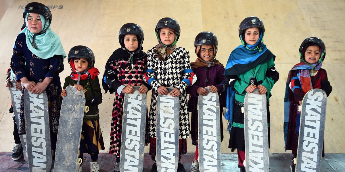 The Organization Teaching Young Girls in Afghanistan to Skateboard