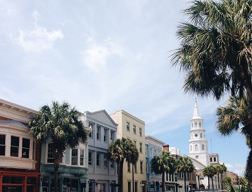 Travel Guide Southern Cities Charleston South Carolina