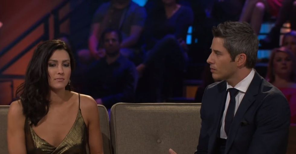 Becca and Arie After the Rose