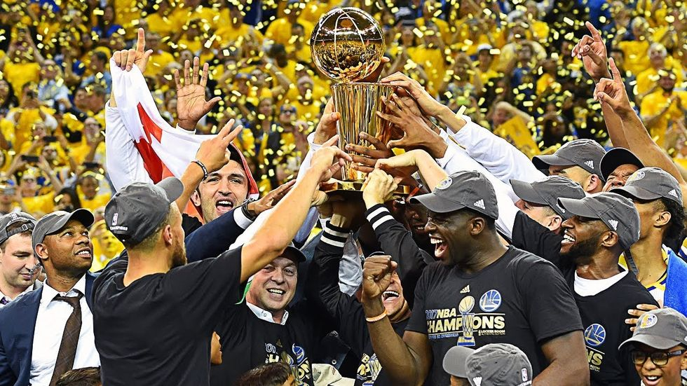 Golden State Warriors Sweep Cavs In the NBA Finals