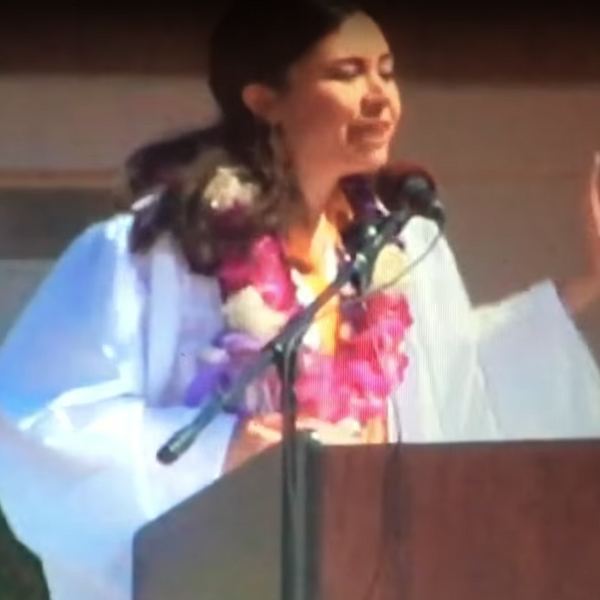 Valedictorian's Mic Cut While Addressing Her Sexual Assault